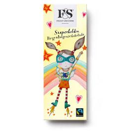 Frucht & Sinne Superheldin Regenbogenschokolade 50 g