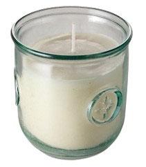 Öko Citronella-Kerze im Glas