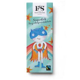 Frucht & Sinne Superheld Regenbogenschokolade 50 g