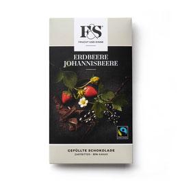 Frucht & Sinne Gefüllte Erdbeere-Johannisbeere 80 g