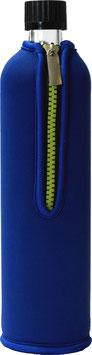 Dora's Glasflasche mit Neoprenbezug unifarben 500 ml