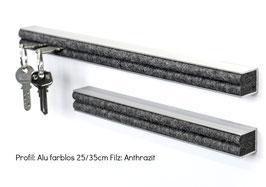 Designleiste Alu/silver 35cm