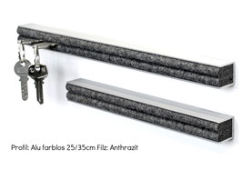No.45.2 Alu-Designleiste silver/large