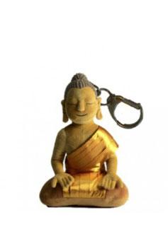 MY FIRST BUDDHA, 14 cm, braun