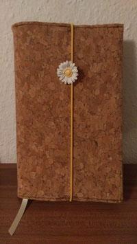 Kork Buchhülle Handmade