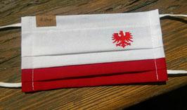 """Behelfs-Mundschutz Maske mit """"Tiroler Adler"""""""