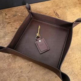 bakke leather desk tray / organiser