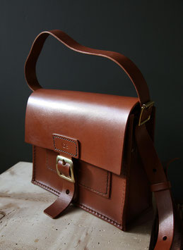 axel tiny - small luxury leather satchel