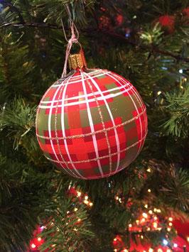 Boule de Noël aux couleurs des Chin-Chin