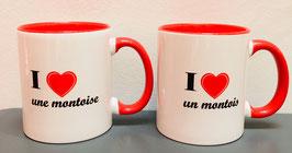 Mug I ♥ un(e) montois(e)