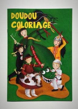 Livre à colorier sur le thème du Doudou ou de la Procession