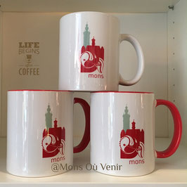 Mug Beffroi Hotel de Ville de Mons