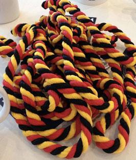 Cordon noir jaune rouge