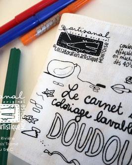 Le carnet de coloriage lavable du DOUDOU