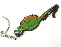 Porte-clef dragon en PVC