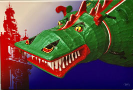 Photo sur toile du Dragon