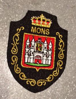 Ecusson avec le blason de la ville de Mons