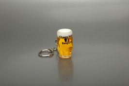 Porte-clefs chope de bière