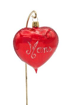 Boule de Noël Coeur de Mons