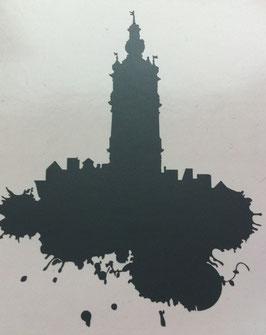 Sticker pour portable - Beffroi
