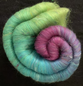 Merino, Angelina, Mulberry Silk, Silk Sari Waste
