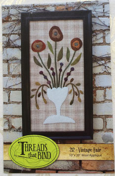 """Vintage Fair"" applique pattern"