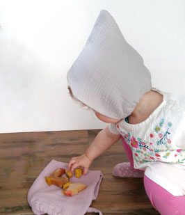 Zwergenmütze Musselin
