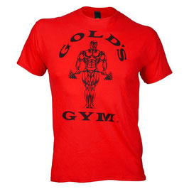 Classic Golds Logo Basic T-Shirt red