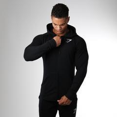 GymShark Ark Zip Hoodie Black
