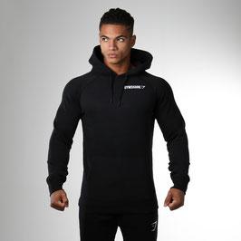GymShark Crest Pullover Hoodie Black