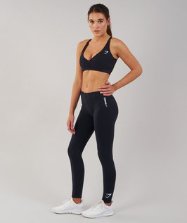 GymShark Ark Jersey Leggings Black