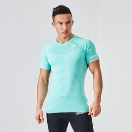 GymShark Fit Seamless T-Shirt Mint Green