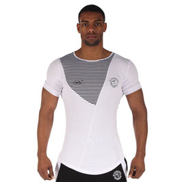 GymShark Luxe T-Shirt White / Black