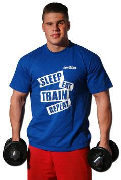 "SportXplo T-Shirt ""Charakter"" blau oder schwarz"