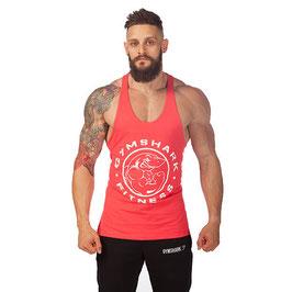 GymShark Fitness Gym Stringer Vest Coral
