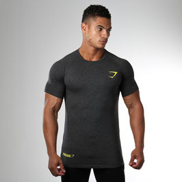 GymShark Fit Element T-Shirt Graphite