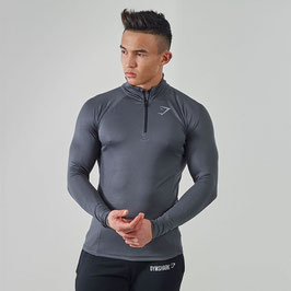 GymShark Elevate Pullover Black / Charcoal