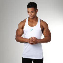 GymShark ION Stringer White
