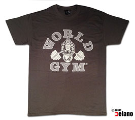 World Gym Classic T-Shirt braun
