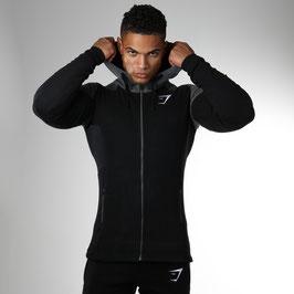GymShark Pioneer Zip Hoodie Black