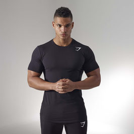 GymShark Ark T-Shirt Black
