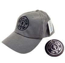 Golds Gym Simple Logo Sueded Cap