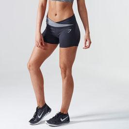 GymShark DRY Sculpture Shorts Black