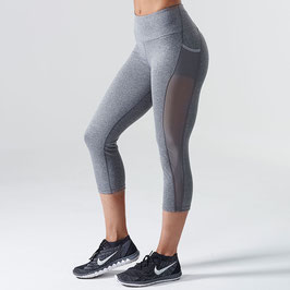 GymShark Dry Sculpture Cropped Leggings Charcoal
