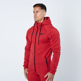Physiq Apparel ThermaTec Zipped Hoode Blaze Red