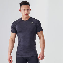 GymShark DRY Apex T-Shirt Black