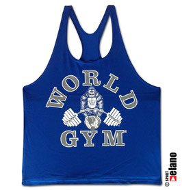 World Gym Classic Stringer royal