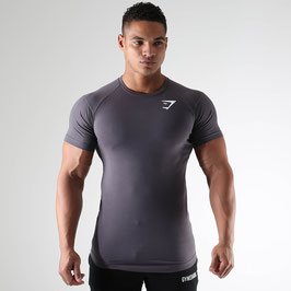 GymShark Form T-Shirt V2 Charcoal