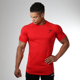 GymShark Fit Element T-Shirt Red