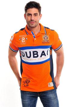 Geographical Norway Polo Dubai orange